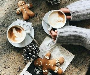 cafe and navidad image