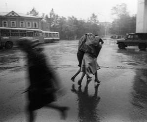 rain, beautiful, and black and white image