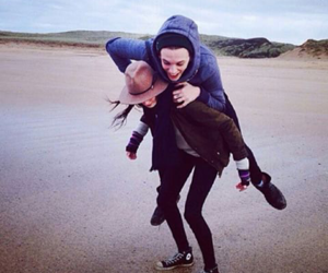 couple, Jamie Campbell Bower, and matilda lowther image