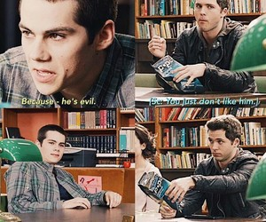 funny, scene, and teen wolf image