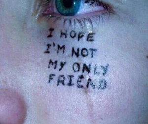 cry, depressed, and why me image