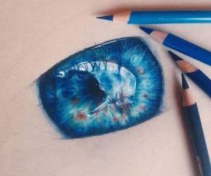 amazing, blue, and art image