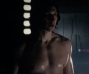 handsome, adam driver, and star wars image