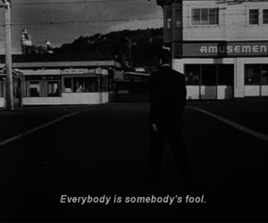 fool, black and white, and quotes image