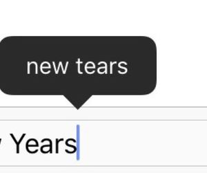 tears, new year, and sad image