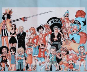 anime, one piece, and manga image