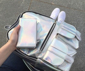aesthetic, holographic, and tumblr image