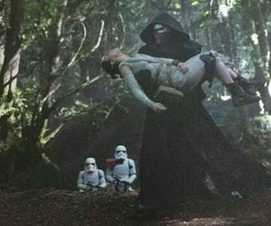 star wars, episode vii, and the force awakens image