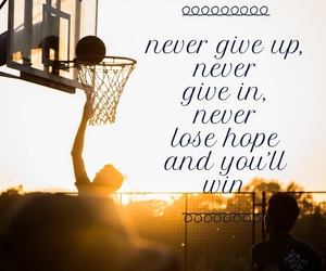 Basketball, believe, and fitness image