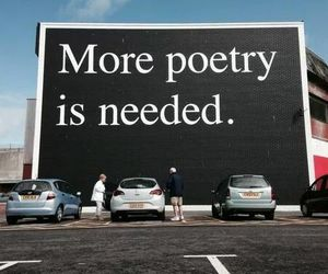 ad, advertise, and poetry image