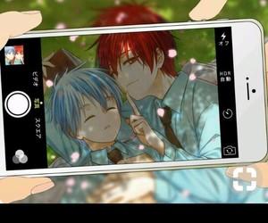 manga, yaoi, and kurokonobasket image