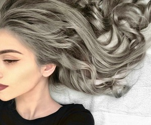 beauty, curls, and fashion image