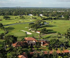 florida, golf course, and Miami image