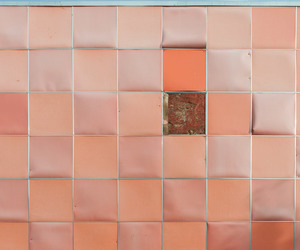 pattern, peachy, and peach image