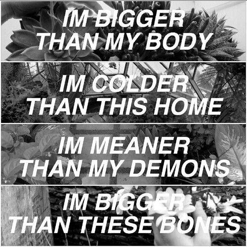 control, halsey, and Lyrics image