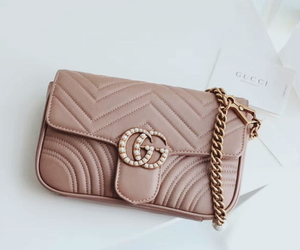 aesthetic, gucci handbag, and clutch image