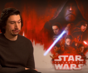 funny, star wars cast, and adam driver image