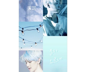 aesthetic, blue, and edits image