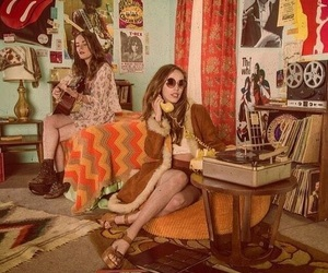 70s, aesthetic, and hippie image