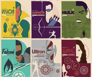 Avengers, Marvel, and iron man image