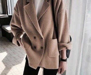clothes, coat, and mode image