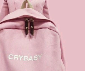 aesthetic, baby, and cry image