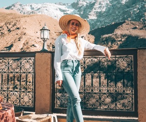 fashion, jeans, and marrakech image