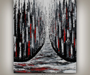cityscape, etsy, and contemporaryart image
