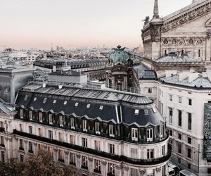 building, city, and paris image