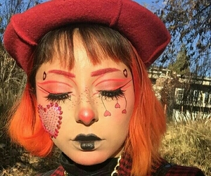 aesthetic, art, and cool makeup image