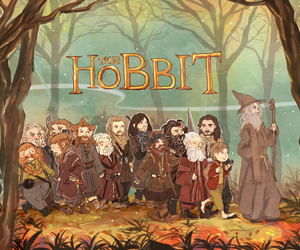 hobbit, thelordoftherings, and love image