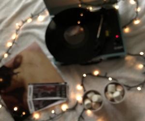 album, blurred, and christmas lights image
