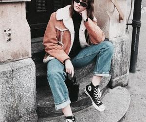 fashion, chic, and denim image