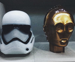 c3po, star wars, and stormtrooper image