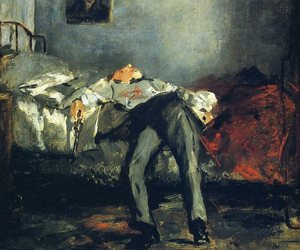 art, edouard manet, and le suicide image