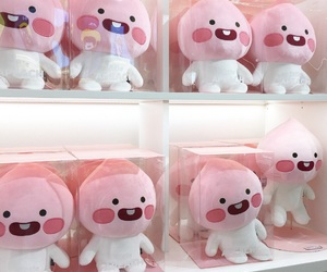 cute, pink, and toy image