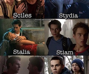 lydia, teen wolf, and theo image