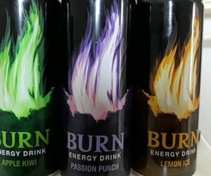 burn, drink, and energy image
