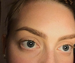 eyes, makeup, and brows image