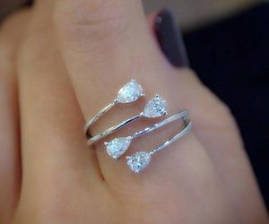 jewelry, ring, and fine jewelry image