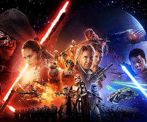 star wars and the force awakens image