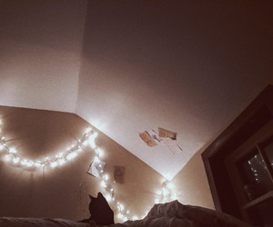aesthetic, bedroom, and bed image