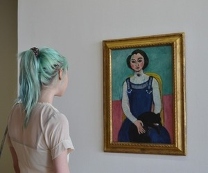 art, girl, and indie image