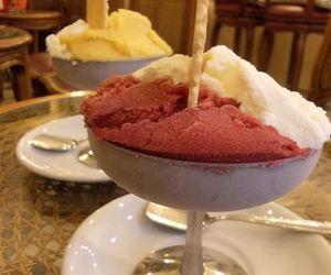 gelato, ice cream, and yum image
