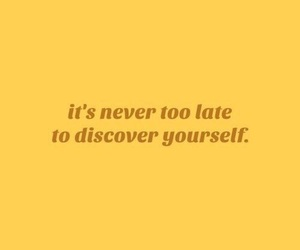 quotes, yellow, and discover image