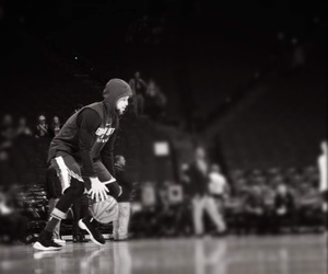 Basketball, black and white, and curry image