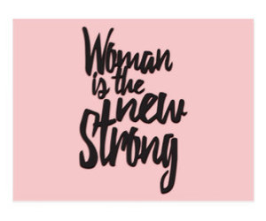be strong, empowerment, and female image