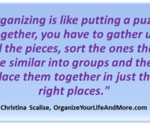clutter, organize, and puzzle image