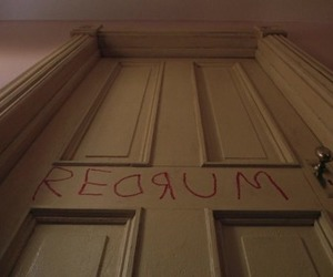 The Shining, murder, and redrum image