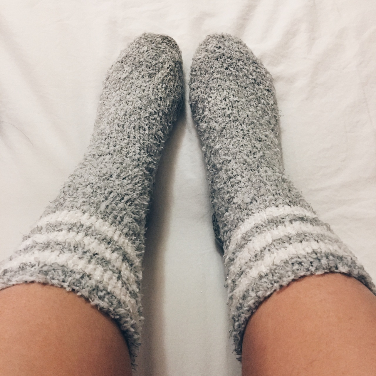 cozy, feet, and fuzzy image